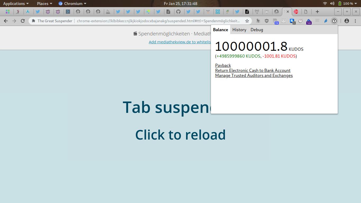 GNUnet Bug Tracker